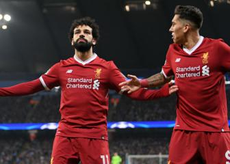 Salah eyes Reds record, Roma's away-day struggles