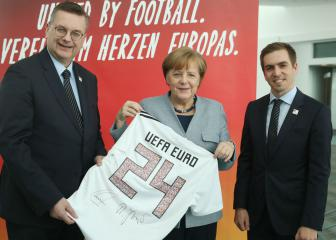 Germany submits official bid to host Euro 2024