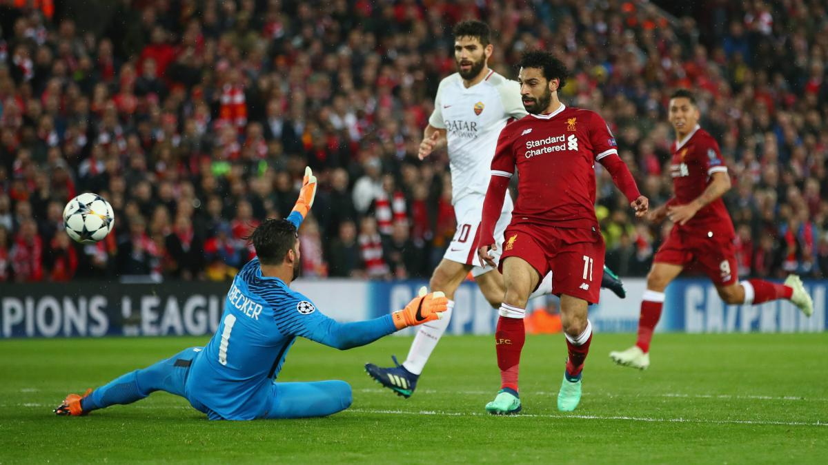 Salah sets Liverpool record with spectacular first-half double