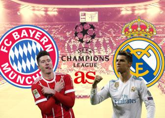 Bayern - Real Madrid: Champions League latest news