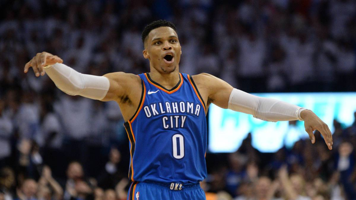 Unbelievable Westbrook: 45 points to rescue Oklahoma