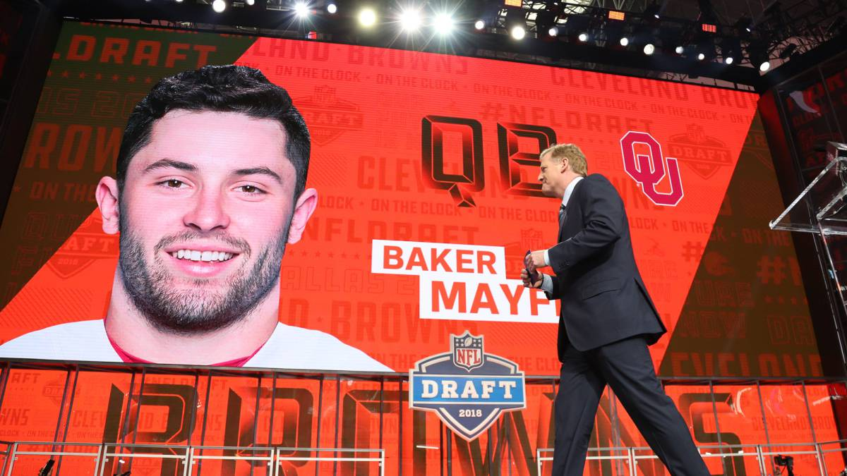 NFL Draft 2018 live online: first round