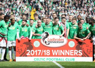 Seven in a row: Celtic secure title with Old Firm demolition