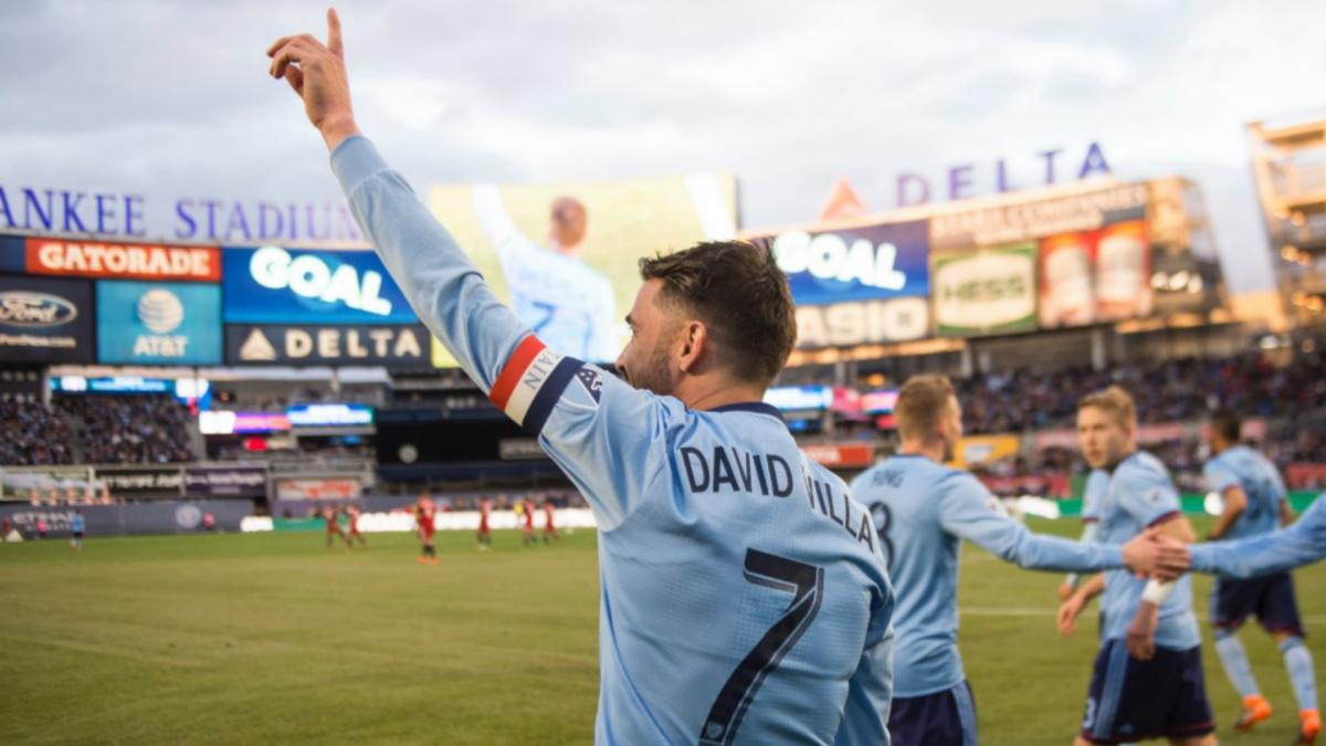 David Villa hungry for more after 400-goal milestone