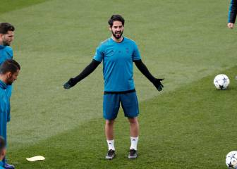 Isco and Nacho train fully ahead of Bayern clash