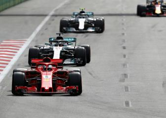 Hamilton accuses Vettel of safety car rule breach