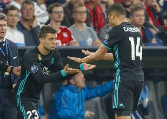 Casemiro to watch Real Madrid v Bayern from the bench