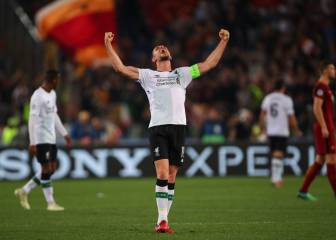 Reds withstand Roma storm to book a place in Kiev final