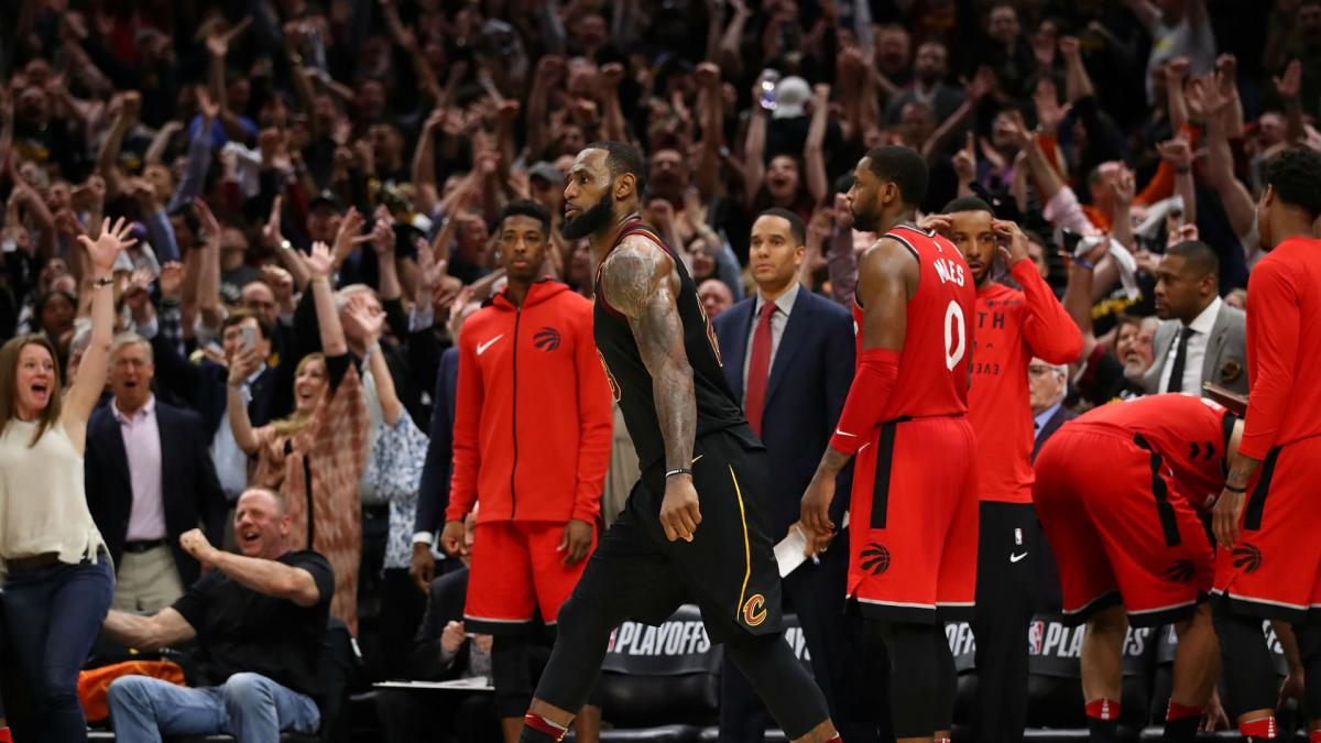 Don't try it at home! LeBron James revels in buzzer-beating basket