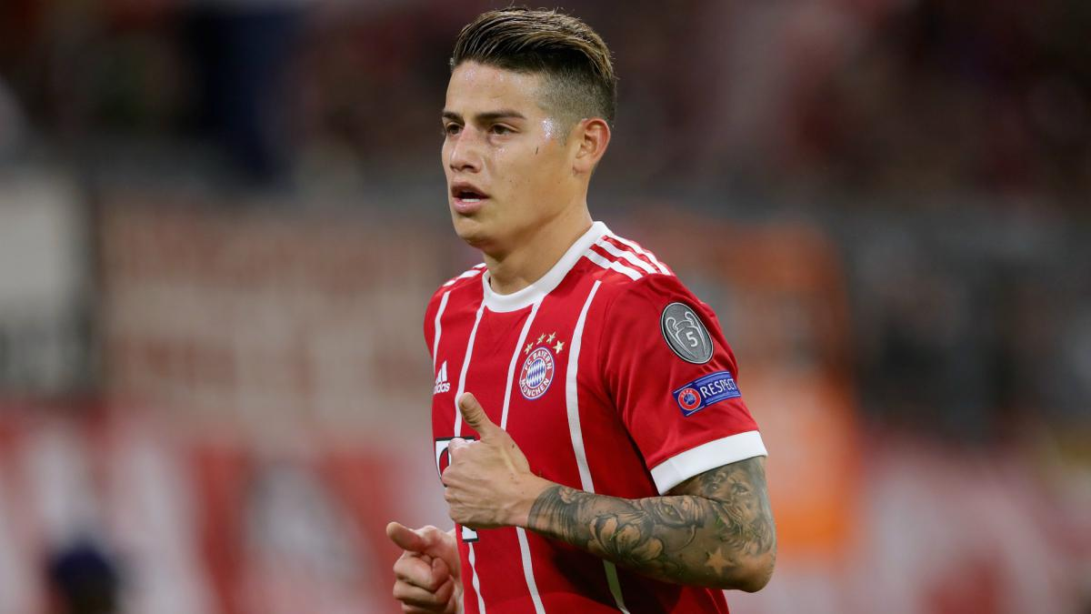James wants permanent Bayern Munich stay