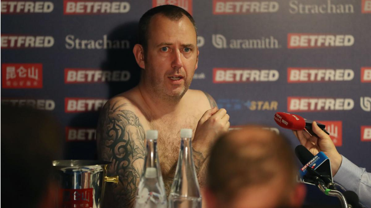 I'll cartwheel naked next year - Snooker champ Williams