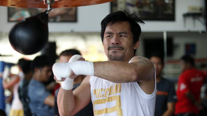Mayweather: Pacquiao-Matthysse is a very exciting fight