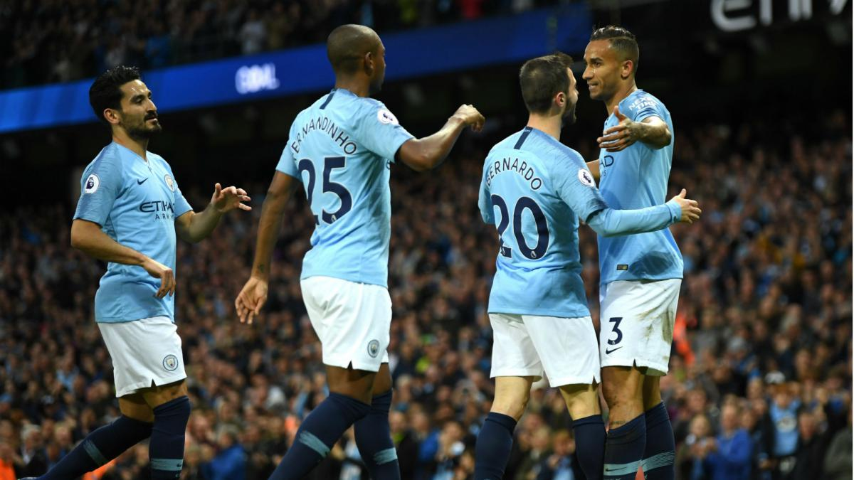 Manchester City set new Premier League goals record