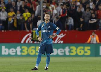 Ramos makes history with the wrong kind of hat-trick