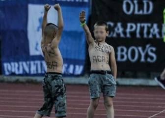 Bulgaria investigates case of 'Nazi' boys at Levski-Slavia cup final