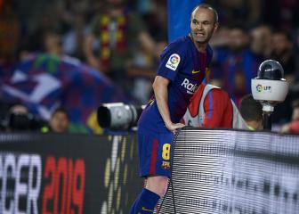 Iniesta: Barça exit a sporting decision, not about wine