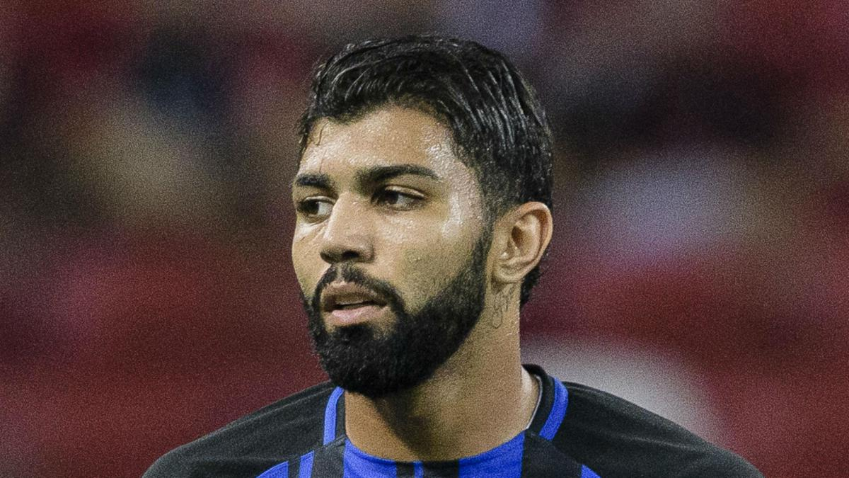 Inter flop Gabigol scores first career hat-trick for Santos