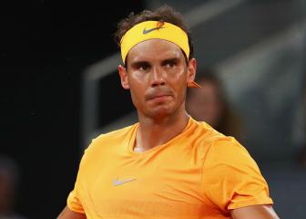 50 and out for Nadal as he finally loses a set on clay