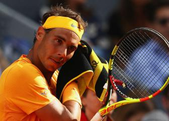 Nadal unfazed by losing number one status to Federer