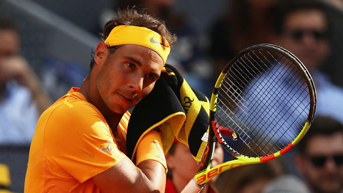 Nadal unfazed by losing number one status