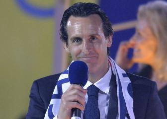 Unai Emery rates himself a seven out of 10 for work at PSG