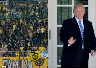 Beitar Trump Jerusalem - US president honoured by Israeli club renaming