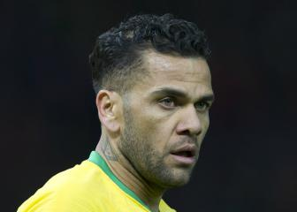 Brazil coach Tite sends 'big hug' to injured Dani Alves