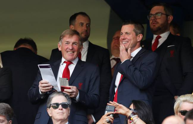 The King | Kenny Dalglish in the stands before Chelsea vs Liverpool.