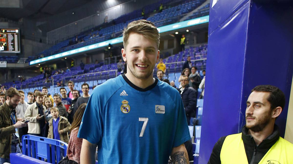 Luka Doncic not sure if he'll leave Real Madrid after NBA Draft