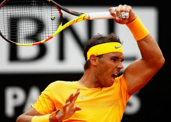 Nadal fights back to down Fognini with sights on Djokovic