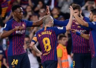 Fitting Coutinho strike for Iniesta's Barça swansong