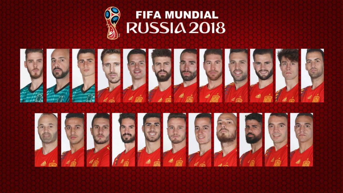 92764ce5339 Julen Lopetegui names Spain World Cup 2018 squad  as it happened ...
