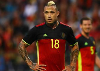 Nainggolan left out of Belgium's World Cup squad