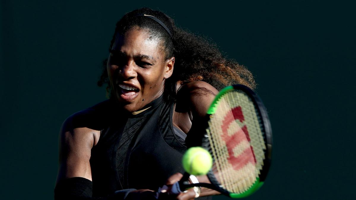 Serena steps up Roland Garros training ahead of French Open