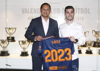 José Luis Gayà signs new five-year Valencia contract