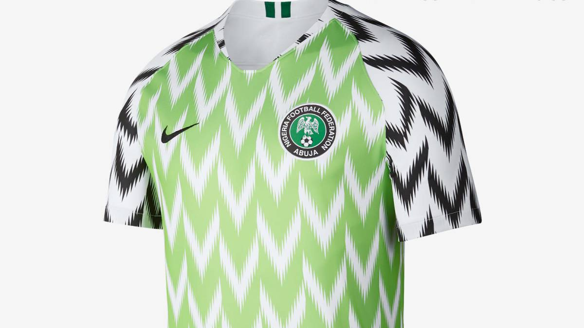 c34940d77 Nigeria World Cup jersey breaks record with three million pre-orders ...