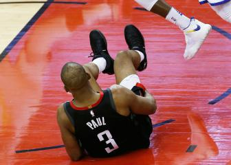 Houston Rockets without Chris Paul for game six