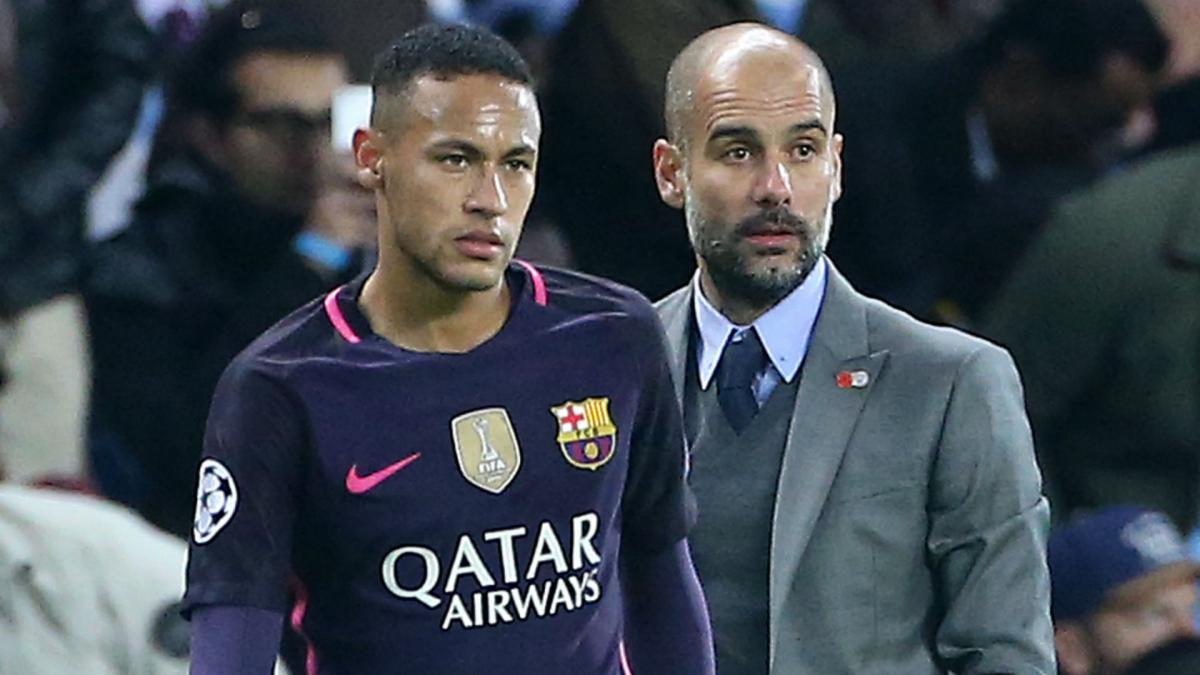 Neymar reiterates desire to work with Guardiola