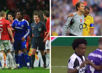 Red cards in Champions League finals: Lehmann, Drogba, Cuadrado