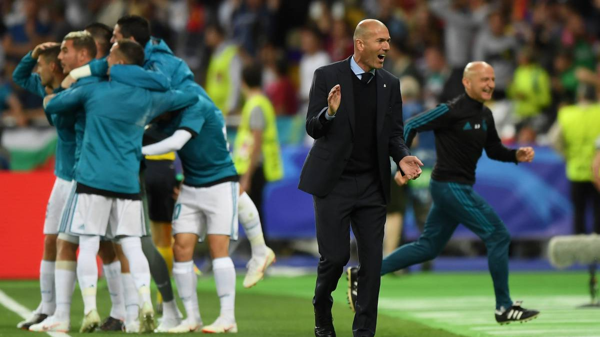 Zidane equals Paisley and Ancelotti with third win