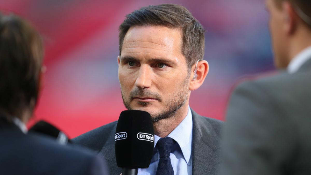 Lampard confirms Derby talks over vacant managerial position