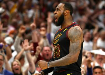 LeBron James leads Cavs past Celtics and into NBA Finals
