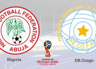 Deadlock for Nigeria and DR Congo at 1-1