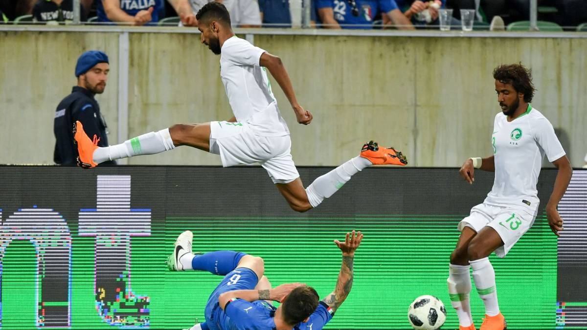 Italy 1-2 Saudi Arabia: International friendly