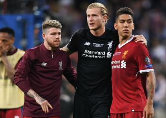 Reported Reds target Alisson offers Karius moral support