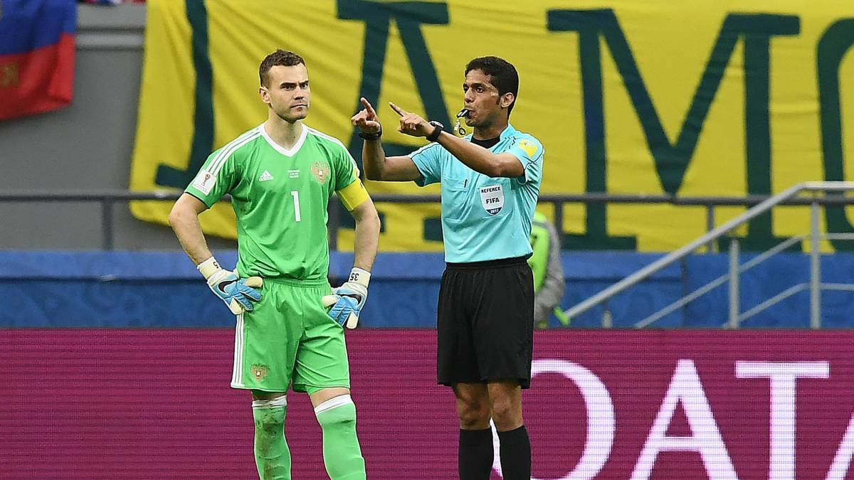 Disgraced Saudi referee Al Mirdasi officially withdrawn from World Cup
