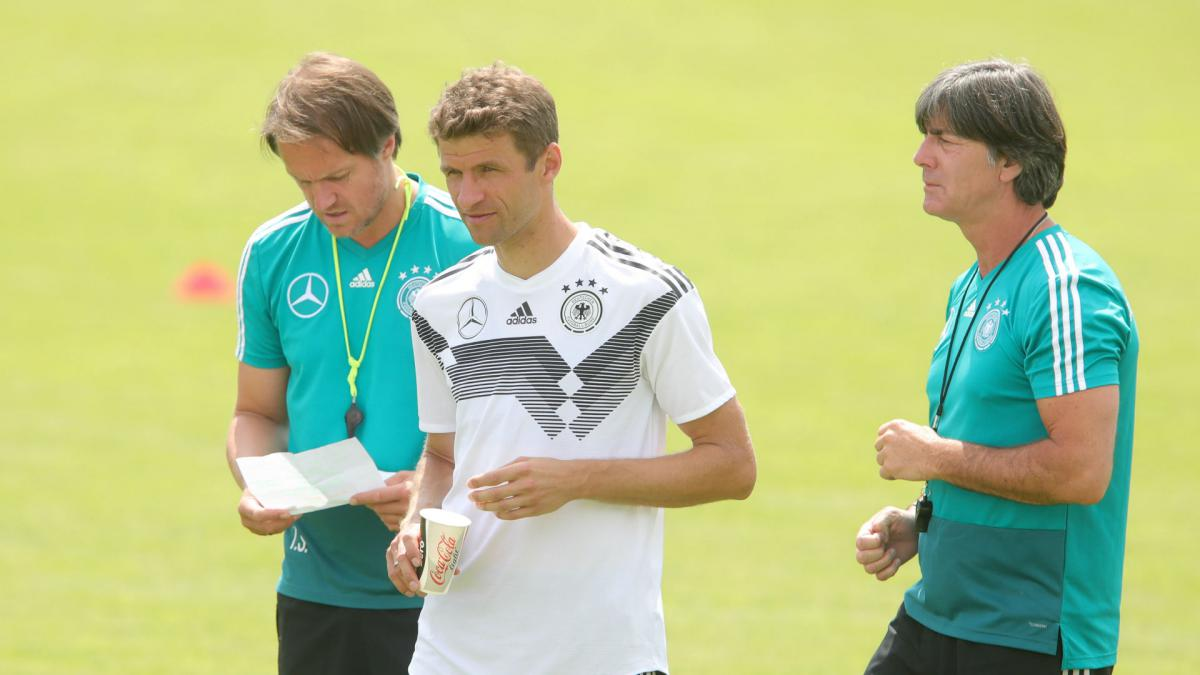 Hummels and Muller to sit out Germany friendly as Low prepares to cut squad