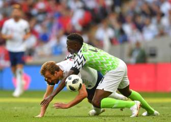 England toil to victory over entertaining Nigeria