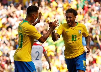 Neymar brilliance embellishes lacklustre Brazil victory