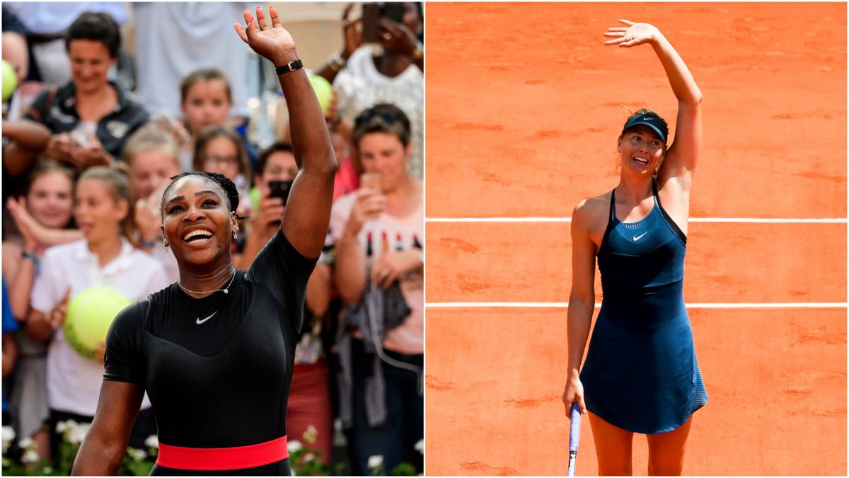 Williams v Sharapova – Five of their best matches ahead of French Open clash